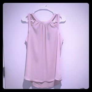 NWT light pink express top